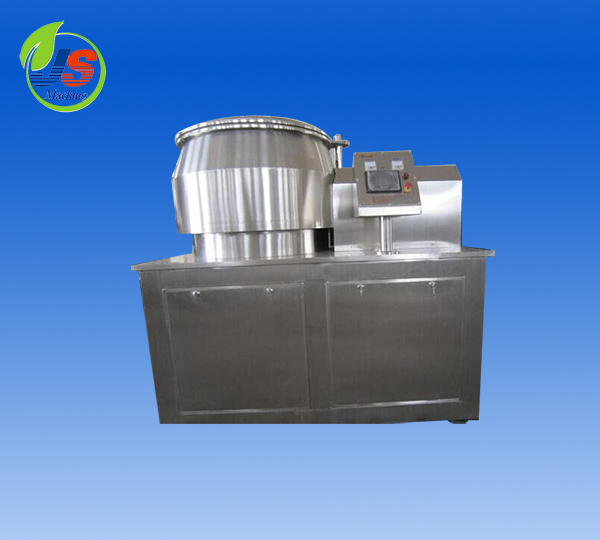 High efficiency wet mixing granulator